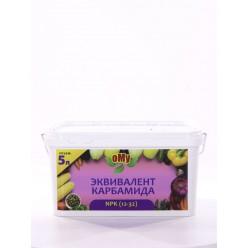 Органоминеральное удобрение ОМУ Эквивалент карбамида, 5л, ведро