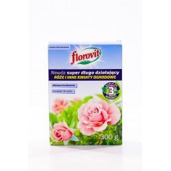 """Удобрение """"Флоровит"""" (Florovit) супер длительного действия для роз и других цветущих, 300г (коробка)"""
