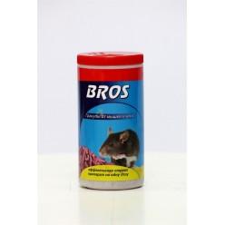 """Гранулы от мышей и крыс """"Bros"""", 250 г"""