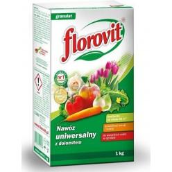 Удобрение Флоровит (Florovit) универсальное гранулированное с доломитом 1кг, коробка