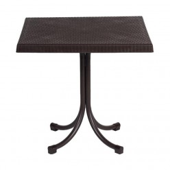 Стол садовый на одной ножке 80х80х73см CT063/BR