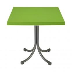 Стол садовый на одной ножке 75х75х73см зеленый CT055ZI