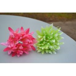 Цветок искусственный Агапант головка 17х10см микс W604