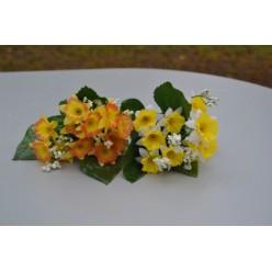 Цветок искусственный Нарцисс букет мини 25 см №31.05 H120