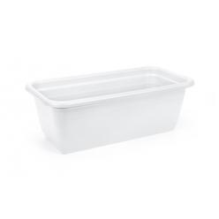 Ящик балконный Натура 600 мм пластмассовый  белый 430