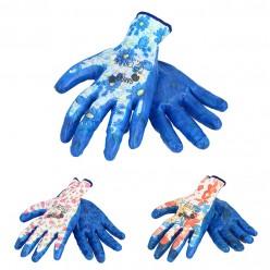 Перчатки защитные  (п/э.нитрил) р.8 микс  Польша IDA1248
