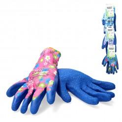 Перчатки защитные  (п/э латекс) р.9 микс  Польша IDA8478