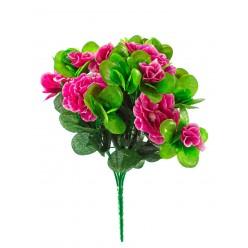 Цветок искусственный Азалия букет 23 см