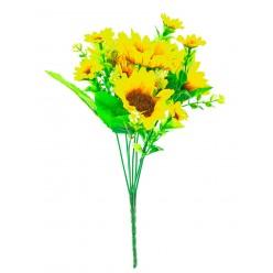 Цветок искусственный Подсолнух в букете №6.05