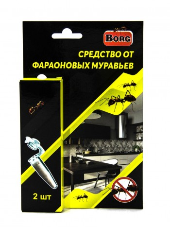 Средство от фараоновых муравьев Borg 2шт/уп