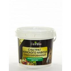 Органические гранулы на основе конского навоза Ferti+ 1л