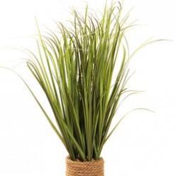 Трава искусственная в горшке 0,61м
