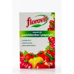 Удобрение Флоровит для томатов и перца гран. 1кг, коробка