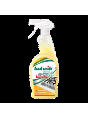 """Чистящее молочко  для кухни """"Ludwik"""", 750 мл, спрей"""