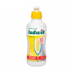 """Средство для мытья посуды """"Ludwik"""", лимон, 250 гр"""