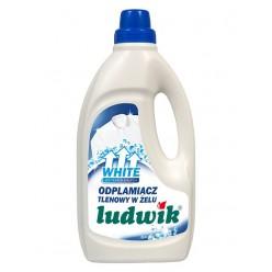 """Пятновыводитель, гель для белых тканей """"Ludwik"""" 1л"""