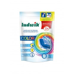 """Гелевые капсулы для стирки цветных тканей """"Ludwik"""" 10шт"""