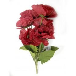 """Цветок искусственный """"Мак букет"""" 206139"""