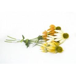 Цветок искусственный Рудбекия ветка № 486