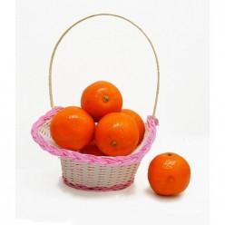 Плод искусственный мандарин 12шт/уп
