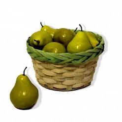 Плод искусственный Груша 12шт/уп 237446