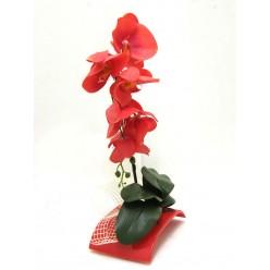 """Икебана """"Орхидея"""" искусственная, БФ90019, Hand-Made"""