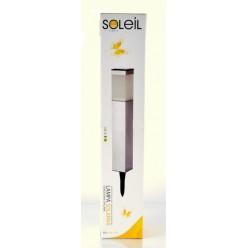Фонарь садовый металлический солнечный SOL-S1611W