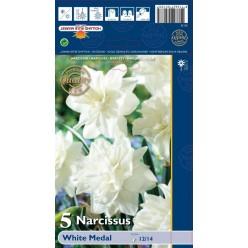 Нарцисс White Medal 5шт р.12/14 луковица 35133