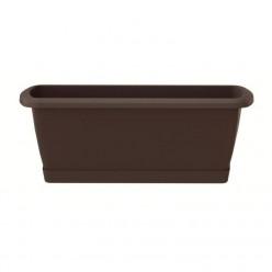 Ящик балконный RESPANA BOX коричневый 90см