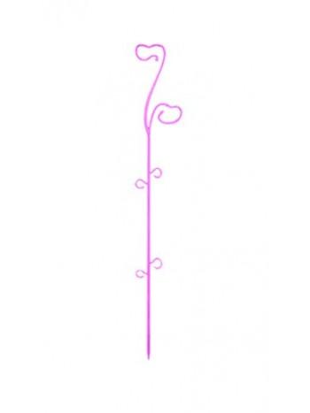 Опора пластмассовая для Орхидей светло-розовый 59см 0308PS-Т10