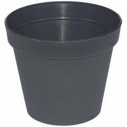 """Горшок пластиковый """"Патио"""" 70 серый DPAT7023PG001"""