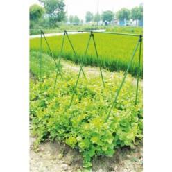 Опора садовая для огурцов и вьющихся растений 1,5м с сеткой 1,5х2,6м комплект JAW9379