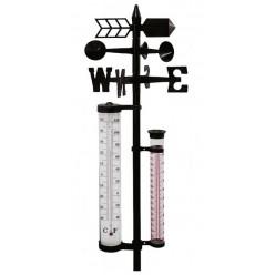 Погодная станция садовая 4в1/термометр, ветрометр LAR1787