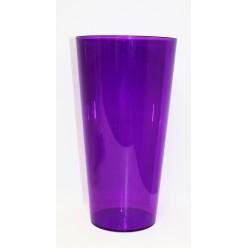 Ваза пластиковая Туба Вулкано 15 фиолетовый