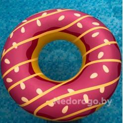 Круг пляжный надувной 125 см Пончик Jilong 37353