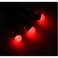 """Гирлянда """"Метраж"""" универсальная, 10 м., LED красная"""