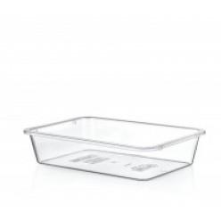 Лоток пищевой прозрачный пластм. 4,5 л HOB031257