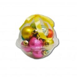 Шары ёлочные набор (12шт) 3см. пласт. в шаре арт. 615835 OH DEER STR