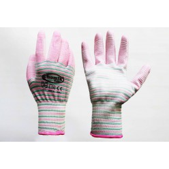 Перчатки защитные (п/э. полиуретан), размер 9, микс