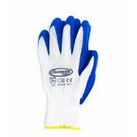 Перчатки защитные (п/э латекс), размер 8, микс