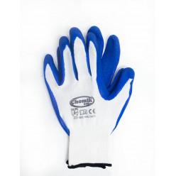 Перчатки защитные (п/э.латекс), размер 10, микс