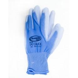 Перчатки защитные (п/э полиуретан), размер 9, микс