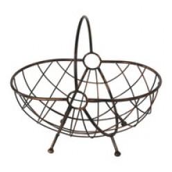 Корзина метaллическая декоративная арт. 116