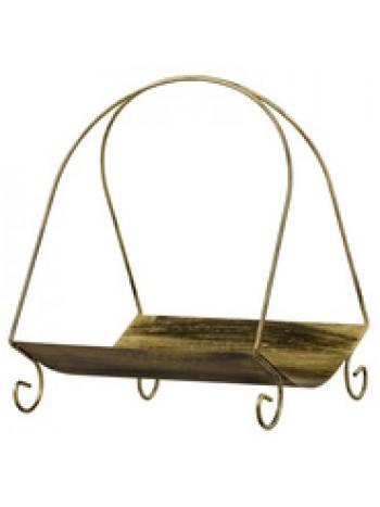 Корзина металлическая для дров арт. 451