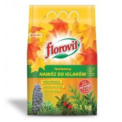 Удобрение Флоровит (Florovit) для хвойных растений осеннее 1 кг, (мешок)