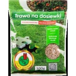 """Семена травы газонной для Досева """"PNOS"""" 100г, мешок"""