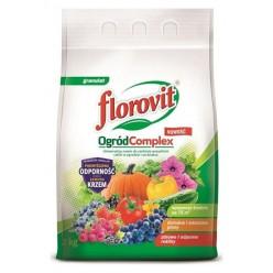 """Удобрение """"Флоровит"""" (Florovit) универсальный для растений Сад Complex 3 кг, гранулированное"""