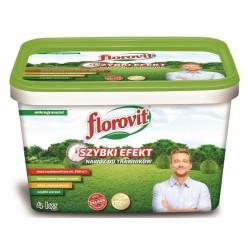 Удобрение Флоровит для газона Быстрый эффект, 4кг ведро