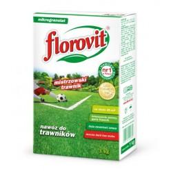 Удобрение Флоровит (Florovit) для газона гранулированное, 1 кг (коробка)