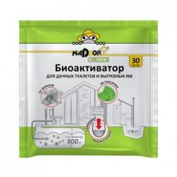 Биоактиватор для дачных туалетов и септиков, 30 гр., в порошке, универсальный, Nadzor Garden BIOWC3